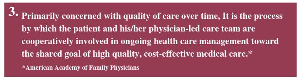 Continuity of care description